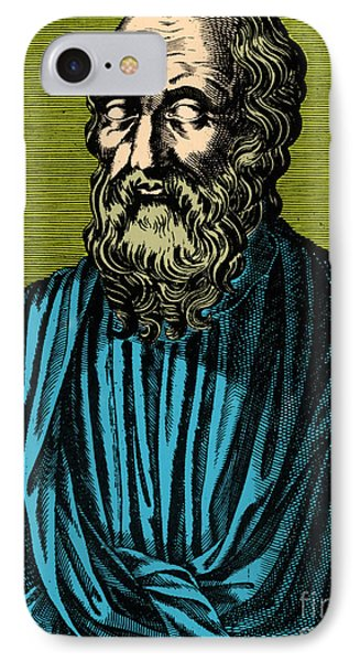 Plato, Ancient Greek Philosopher Phone Case by Photo Researchers