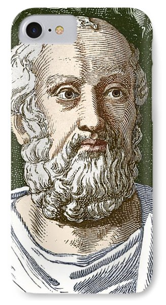 Plato, Ancient Greek Philosopher Phone Case by Sheila Terry