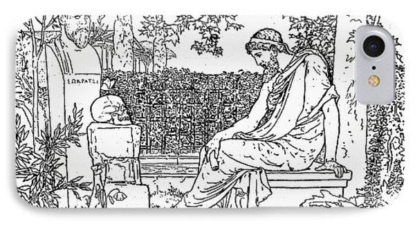 Plato (c427-c347 B.c.) Phone Case by Granger