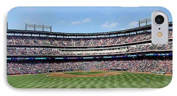 Globe Life Park, Home Of The Texas Rangers IPhone Case