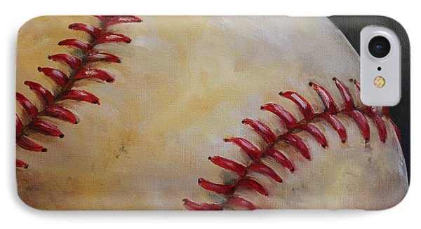 Play Ball No. 2 Phone Case by Kristine Kainer