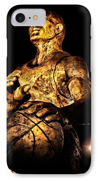 Player In Bronze Phone Case by Christopher Holmes