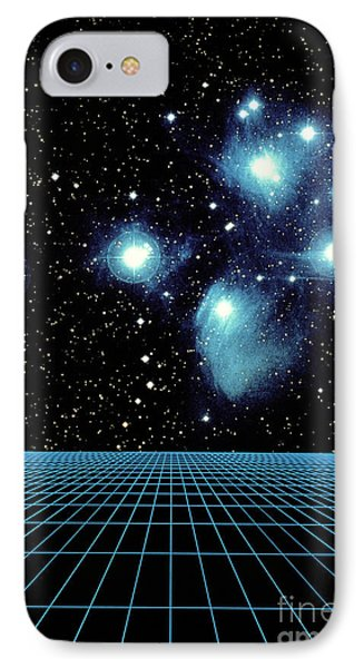 Pleiades In Taurus Phone Case by Science Source