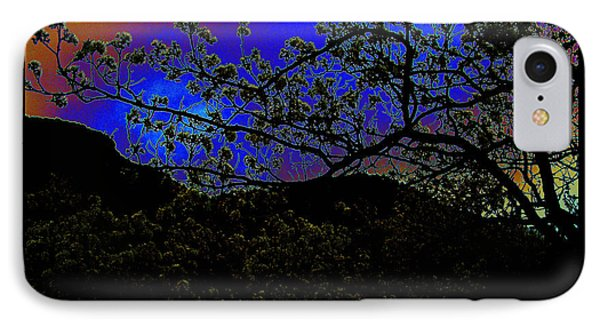 IPhone Case featuring the photograph Plum Grove At Dusk by Susanne Still