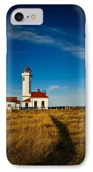 Point Wilson Lighthouse Phone Case by Dan Mihai