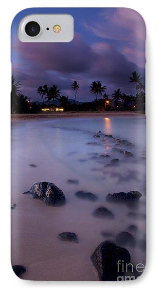 Poipu Evening Storm Phone Case by Mike  Dawson