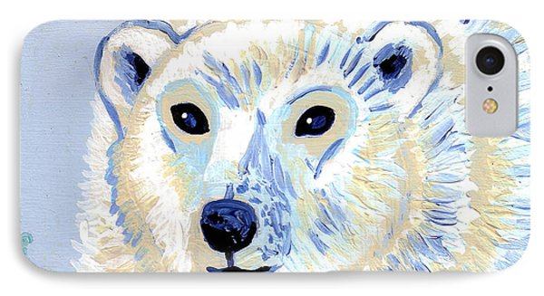 Polar Bear Phone Case by Genevieve Esson
