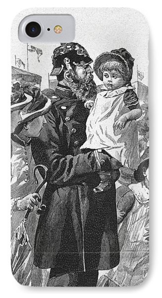 Policeman, 1885 Phone Case by Granger
