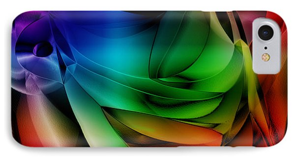 Polychromatic Abstract Phone Case by Anthony Caruso