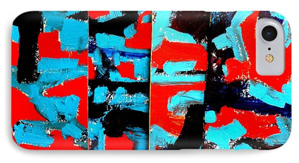Polyptych    I IPhone Case by John  Nolan