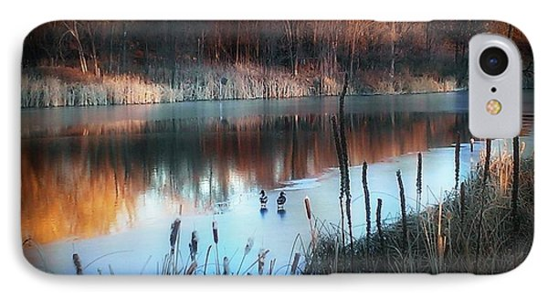 Pond Creek IPhone Case by Michelle Frizzell-Thompson