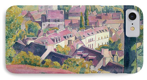 Pont Aven Seen From The Bois D'amour Phone Case by Emile Bernard