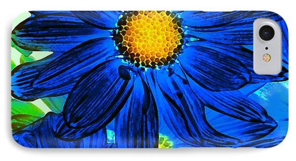 Pop Art Daisies 15 Phone Case by Amy Vangsgard