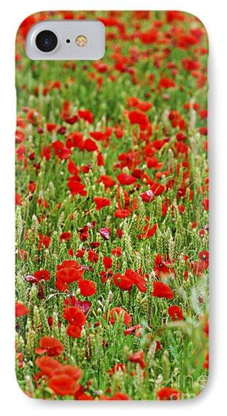 Poppies In Rye IPhone Case by Elena Elisseeva