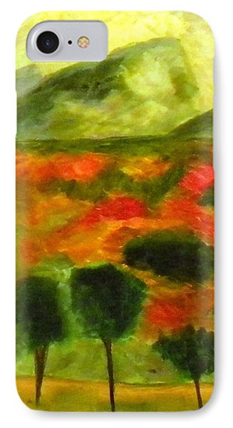 Poppy Fields A Wonder IPhone Case
