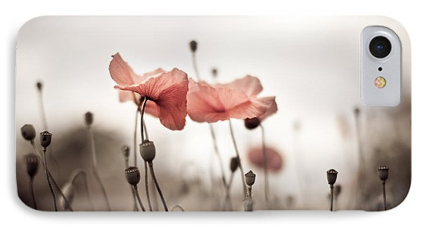 Poppy Flowers 03 IPhone Case by Nailia Schwarz
