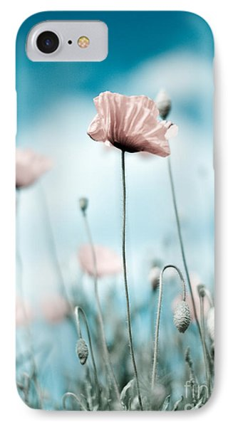 Poppy Flowers 10 IPhone Case by Nailia Schwarz