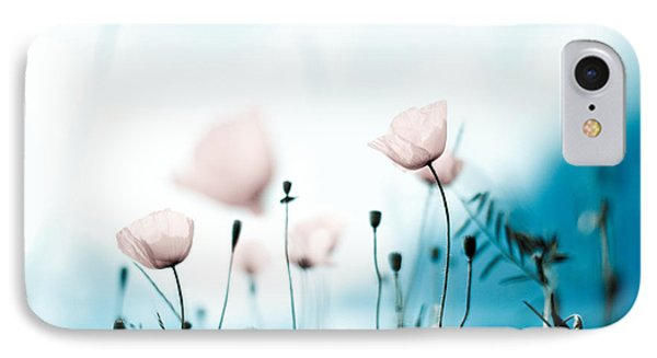 Poppy Flowers 11 IPhone Case by Nailia Schwarz