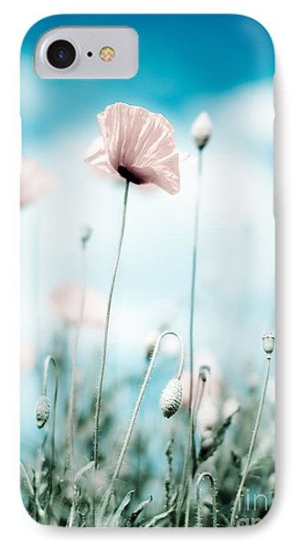 Poppy Flowers 13 IPhone Case by Nailia Schwarz