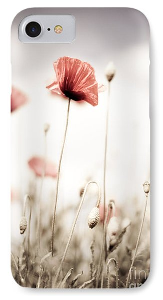 Poppy Flowers 15 IPhone Case by Nailia Schwarz