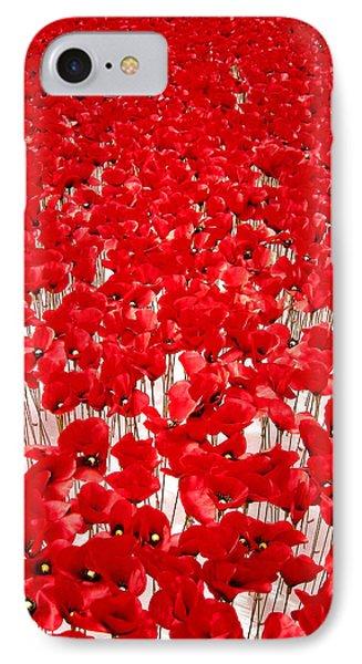 Poppy Meadow ... Phone Case by Juergen Weiss