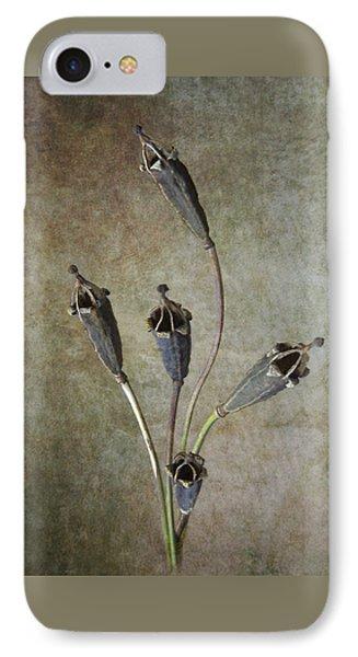Poppy Seed Cases Phone Case by Debra Kelday