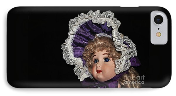 Porcelain Doll - Head And Bonnet IPhone Case