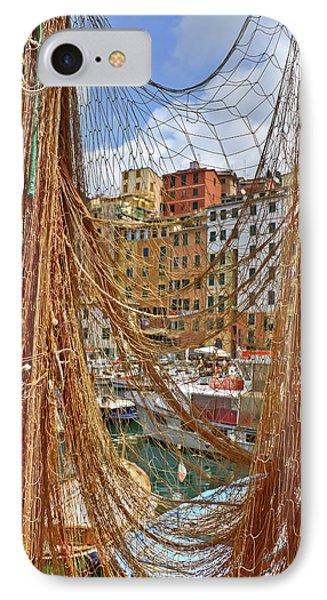 Port Of Camogli Phone Case by Joana Kruse