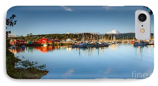 Port Of Ilwaco Phone Case by Robert Bales