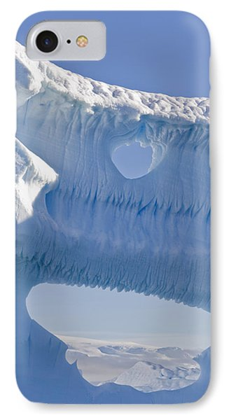 Portion Of A Gigantic Iceberg Phone Case by Ron Watts