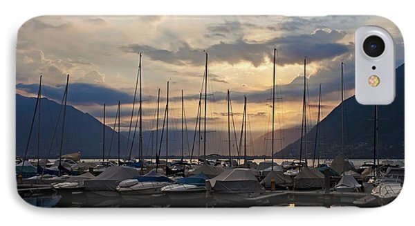 Porto Patriziale Ascona IPhone Case by Joana Kruse