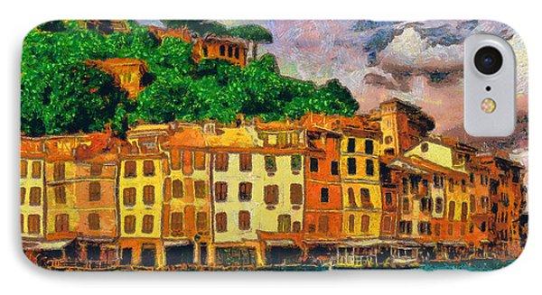Portofino II IPhone Case by George Rossidis