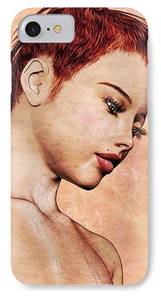 Portrait - No. 10 - Colour Phone Case by Maynard Ellis