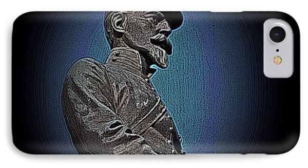 Portrait 29 American Civil War Phone Case by David Dehner