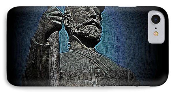 Portrait 30 American Civil War Phone Case by David Dehner