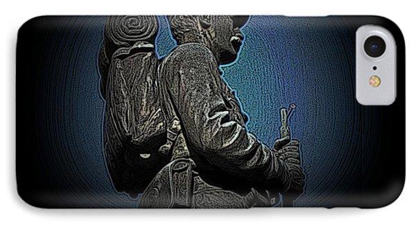 Portrait 31 American Civil War Phone Case by David Dehner