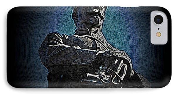 Portrait 36 American Civil War Phone Case by David Dehner
