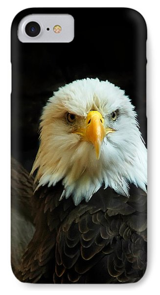 IPhone Case featuring the photograph Portrait American Bald Eagle by Randall Branham