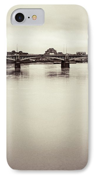 IPhone Case featuring the photograph Portrait Of A London Bridge by Lenny Carter