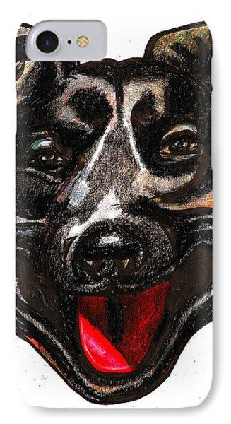 Portrait Of A Pooch Phone Case by Al Goldfarb