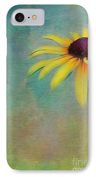 Portrait Of A Sunflower Phone Case by Judi Bagwell
