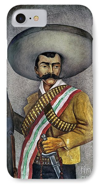 Portrait Of A Zapatista Phone Case by Granger