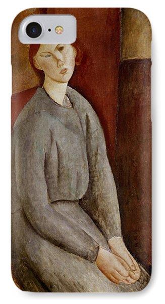 Portrait Of Annie Bjarne IPhone Case