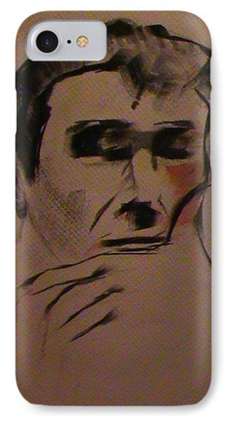 IPhone Case featuring the painting Portrait Of Frank Frazetta by George Pedro