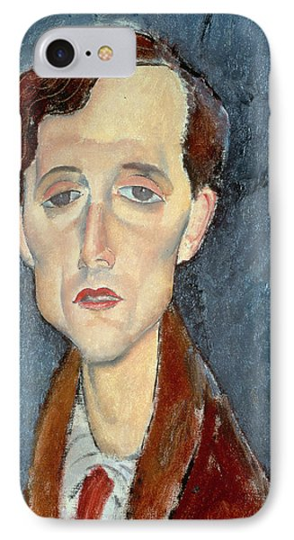 Portrait Of Franz Hellens IPhone Case by Modigliani