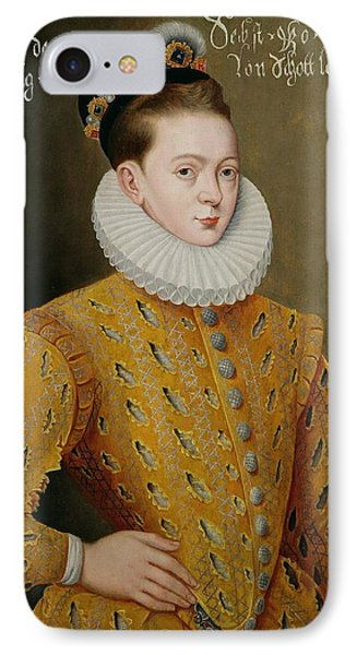 Portrait Of James I Of England And James Vi Of Scotland  Phone Case by Adrian Vanson