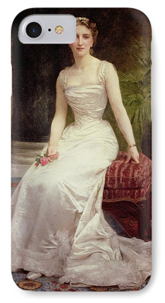 Portrait Of Madame Olry-roederer Phone Case by William-Adolphe Bouguereau