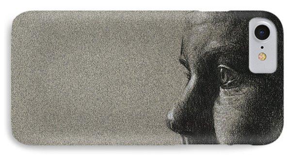 Portrait Of S Phone Case by David Kleinsasser