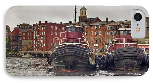 Portsmouth Tugs Phone Case by Joann Vitali