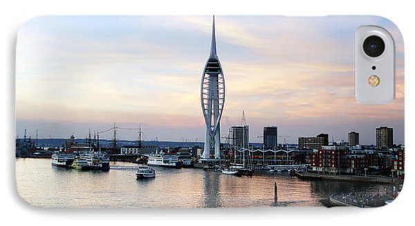 Portsmouth Waterfront Phone Case by Jane Rix